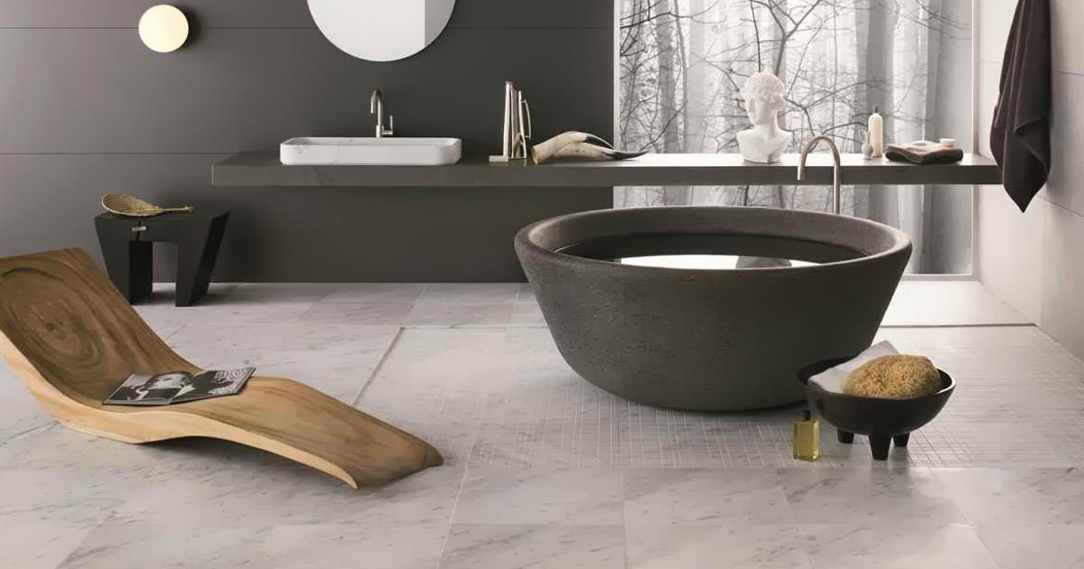 Basaltina w łazience